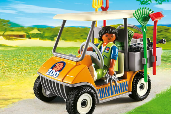 Playmobil Zookeeper's Cart
