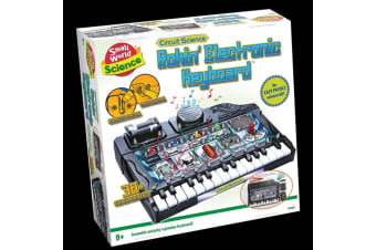 Build & Play Keyboard Kit: 38 Fun Experiments | Small World Science