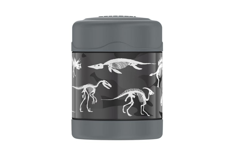 Thermos FUNtainer Stainless Steel Vacuum Insulated Food Jar 290ml Dinosaurs