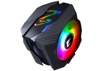 Gigabyte AORUS ATC800 Multi Socket CPU Air Cooler RGB Dual 120mm Fan for Intel