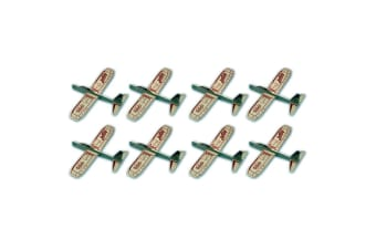 8PK Guillow's Jetfire Outdoor Glider Throw Flying Plane Kids/Child Airplane Toys