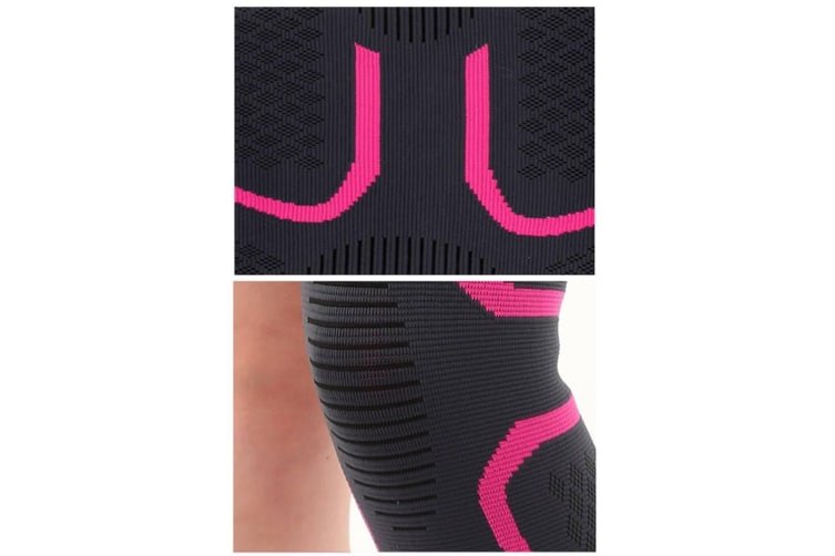 Male And Female Outdoor Sports Kneecap For Mountaineering Bodybuilding Black Xl