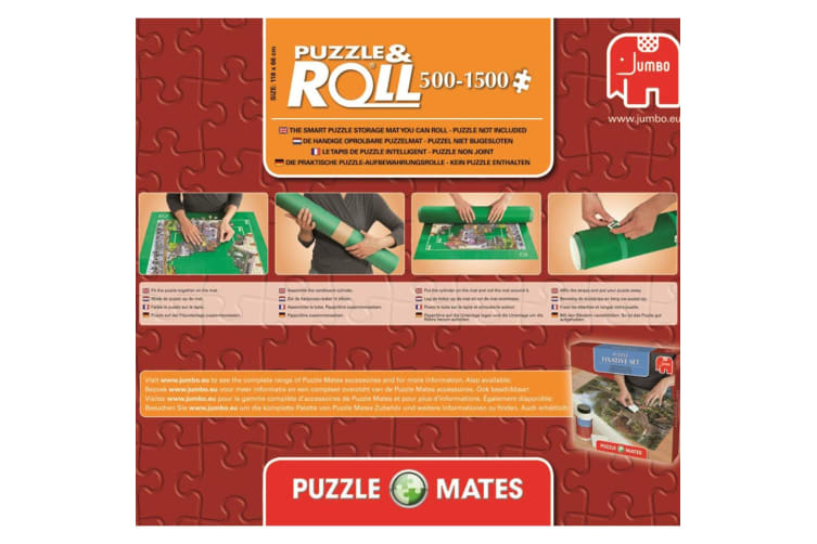 Jigsaw Roll Mat Games Puzzle Storage Tube Stores up to 1500 pieces