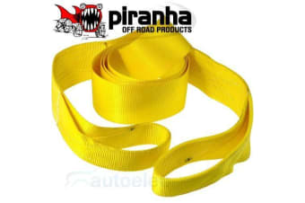 PIRANHA WINCH WIDE 90MM TREE TRUNK PROTECTOR STRAP 6000KG 4WD RECOVERY ACCESSORY