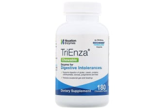 Houston Enzymes TriEnza Chewable 180 Chewable Tablets
