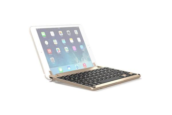 BRYDGE BrydgeMini II Keyboard - Wireless Connectivity - Bluetooth - Compatible with Tablet - Gold