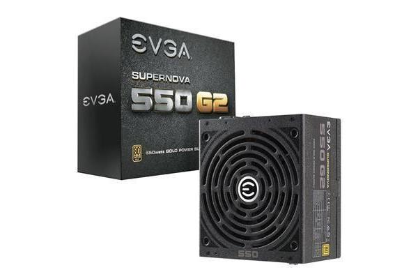EVGA SuperNOVA 550 G2 550W 80+ Gold Full Modular Power supply