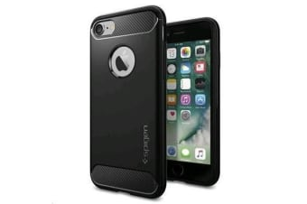 Spigen iPhone 8/ 7 Rugged Armor Case Black