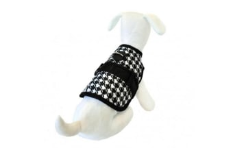 26 Bars & a Band Sherlock Avant Garde Dog Harness (Black/White)