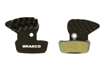 Brakco Organic Disc Pads With Heat-dissipation Fin For Avid Xo Trail