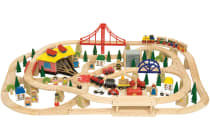 Bigjigs Freight Train Set - 133pcs