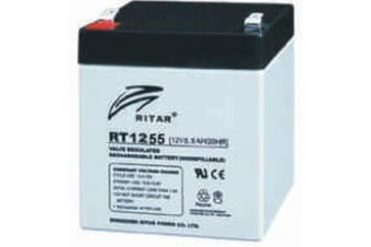 12V 5.5AH SLA Ritar General Purpose Battery