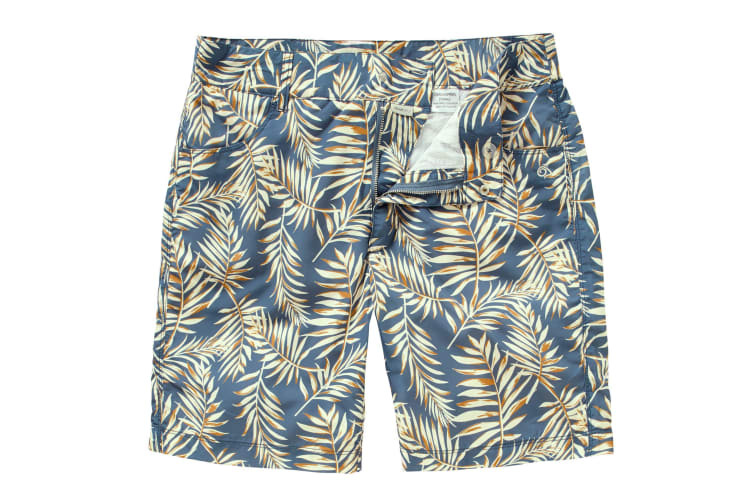 Craghoppers Mens Whitehaven Summer Shorts (Ocean Blue Print) (32-Inch)