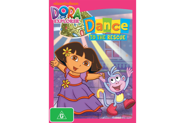 Dora the Explorer Dance to the Rescue DVD Region 4