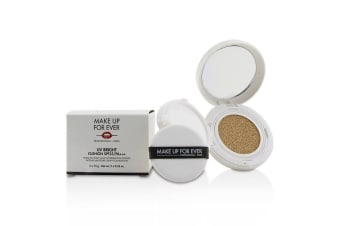 Make Up For Ever UV Bright Cushion SPF35/PA+++ - # Y245 Soft Sand 2x15g