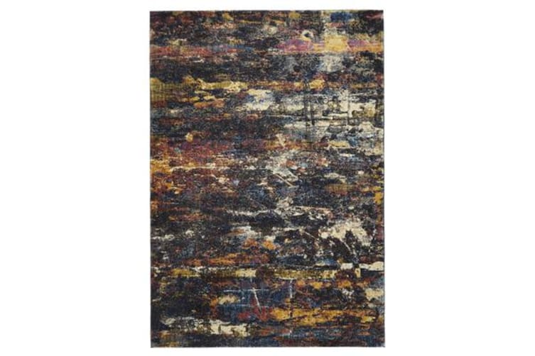 Splash Modern Midnight Rug 290x200cm