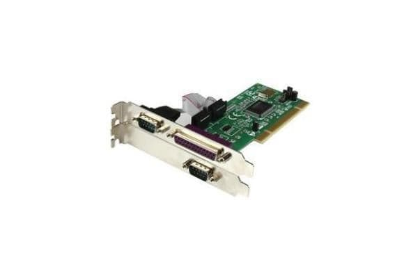 STARTECH 2S1P PCI Serial Parallel Combo Card with 16550 UART - IEEE 1284 Card - Serial Parallel PCI - PCI Serial Adapter