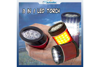 HANDHELD 3IN1 COMPACT POCKET SIZE LED TORCH INSPECTION LAMP WORK LIGHT WORKLAMP