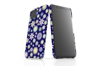 For Google Pixel 4 Snap Case Lightweight Protective Slim Unique Cover Flowers