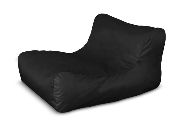 Ovela Luxe Bean Bag Lounger (Black)