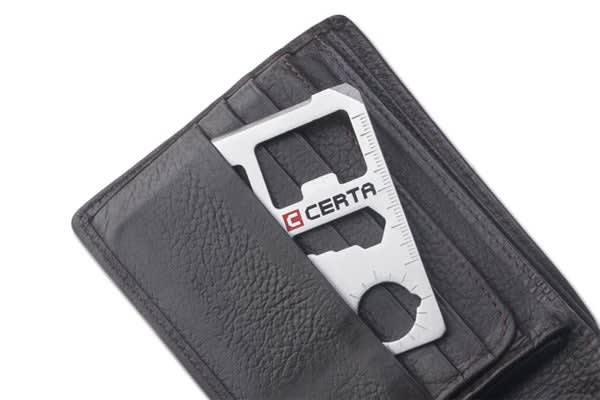 Certa Stainless Steel Multi-Tool Card