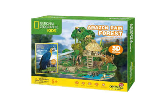 National Geographic Kids Amazon Rain Forest 3D Puzzle