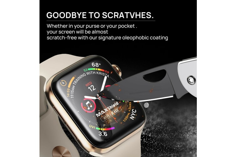 MaxShield Screen Protector for Apple Watch Series 40mm iWatch