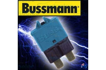 BUSSMANN CIRCUIT BREAKER REPLACES STANDARD BLADE FUSE BATTERY 15A AMP 12V 22715