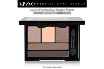 Nyx Love In Florence Eye Shadow Pallette Meet My Romeo Shimmery Brown #Lif01