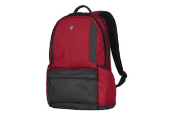 Victorinox Almount 15.6 Laptop Bag Outdoor Travel School Padded Backpack Red