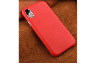 Full Leather Case Compatible With Iphone Real Leather,Covered Buttons Red Iphone7Plus/8Plus