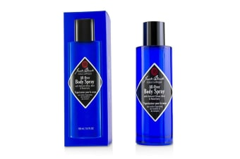 Jack Black All-Over Body Spray with Natural Citrus, Mint & Rosemary 100ml