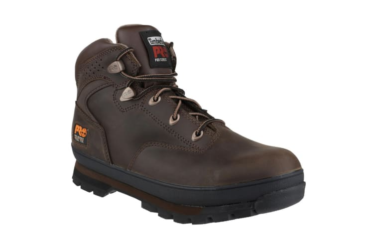 Timberland Pro Mens Euro Hiker Lace Up Safety Boots (Brown Oiled) (10 UK)