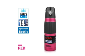 530 ml S/Steel Vacuum Insulated Hydration Bottle with Hygienic Flip Spout-Red