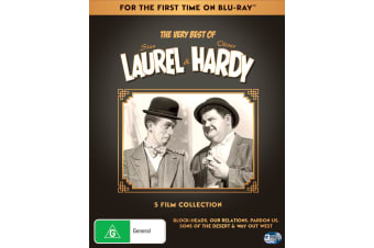 Laurel & Hardy Remastered Collection Box Set DVD Region 4