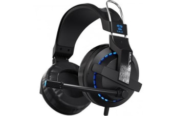 E-Blue EHS951BKAA-IY EHS951BK Cobra Gaming Headset with 120? Rotatable Mic