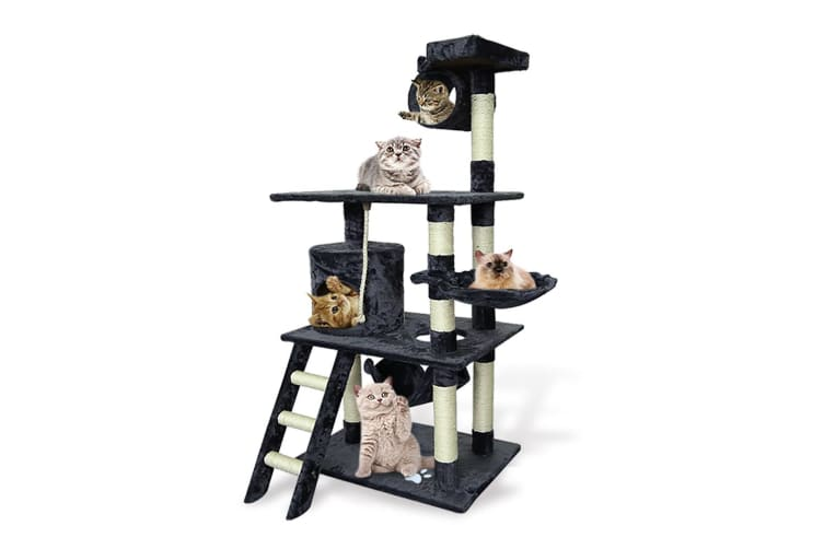 Pawz 1.4M Cat Scratching Post Tree Gym House Condo Furniture Scratcher Tower
