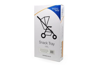 Valco Baby Snack Tray for Snap/Snap4/Snap Ultra/Neo Plus/Spark Stroller Black