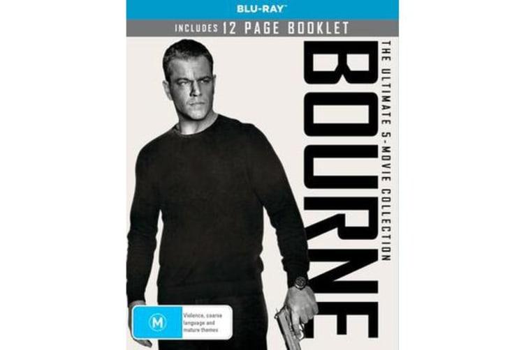 Bourne - The Ultimate 3-Movie Collection (Blu-ray)
