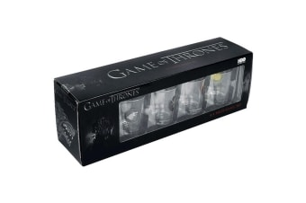 Game Of Thrones Shot Glass Pack Of 4 (Multicoloured) (One Size)