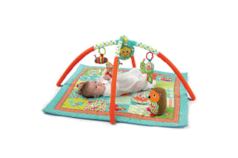 Playgro Grow With Me Garden Baby/Infant Activity Play Gym/Music/Toys/Mirror 0m+