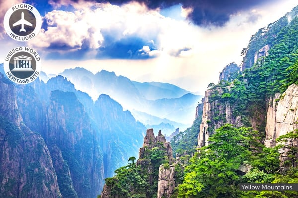 CHINA: 12 Day Scenic China Tour Including Flights for Two