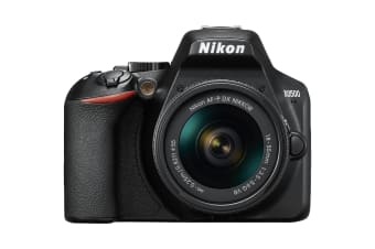 Nikon D3500 DSLR Camera with AF-P DX 18-55mm F/3.5-5.6 Lens Kit - Black (24.2MP) 3.0 inch LCD