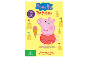 Peppa Pig The Holiday and Other Stories DVD Region 4