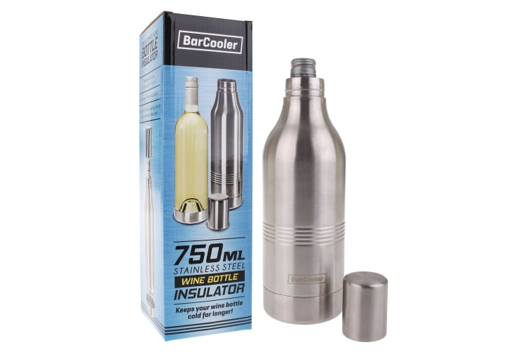 Barcooler 750ml Stainless Steel Wine Bottle Insulator