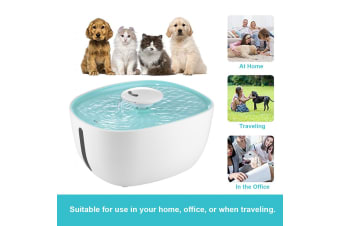 Auto Pet Drinking Fountain Cat Feeder Dog Water Dispenser - 2L