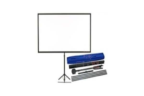 EPSON PORTABLE TRIPOD PROJECTOR SCREENSUITS ALL PROJECTORS 80IN WIDE