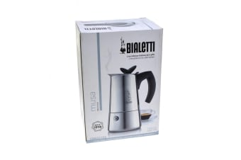 Bialetti Musa 4 Cup Stainless Steel Espresso Maker