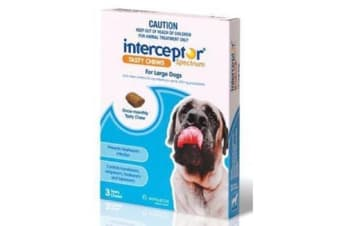Interceptor Spectrum Chews Large Blue - 3p