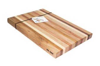 The Big Chop Rectangular Board 50 x 36 x 4cm 5 Timber